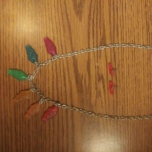 Kid's Swedish Fish Necklace & Earrings Set